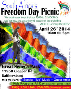 SA Freedom DAy Picnic 2014