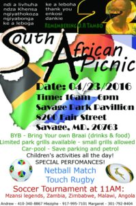 Freedom day Picnic 2016